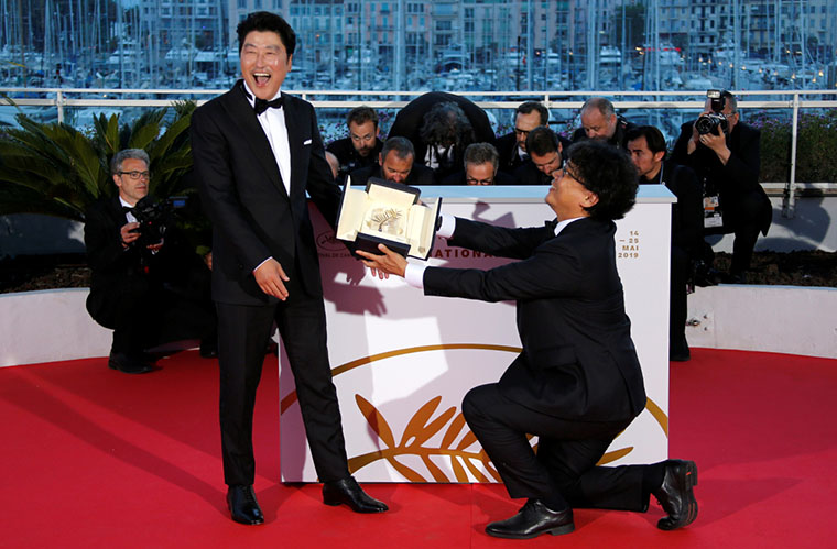 Parasite, Bong Joon-ho, Cannes, Song Kang-ho