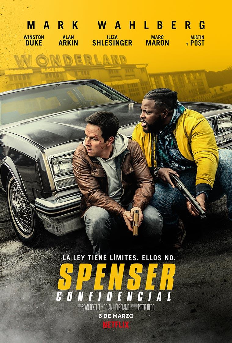Spenser Confidential, Mark Wahlberg, Winston Duke, poster