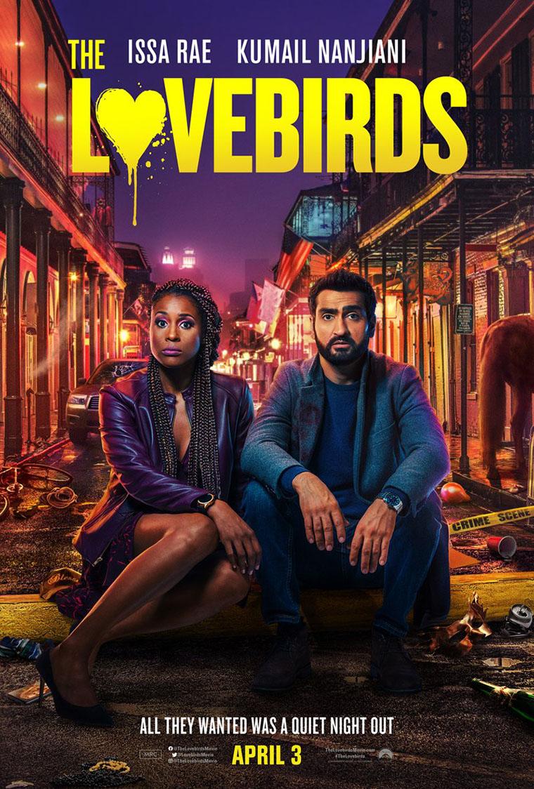 The Lovebirds, trailer, Issa Rae, Kumail Nanjiani, poster