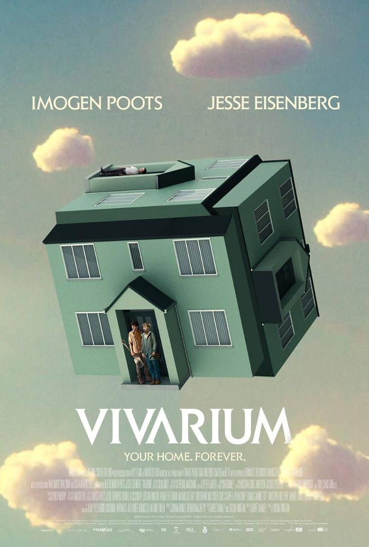 Vivarium, Jesse Eisenberg, Imogen Poots, poster