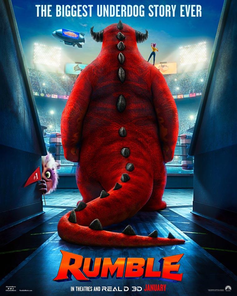 Rumble, Will Arnett, poster