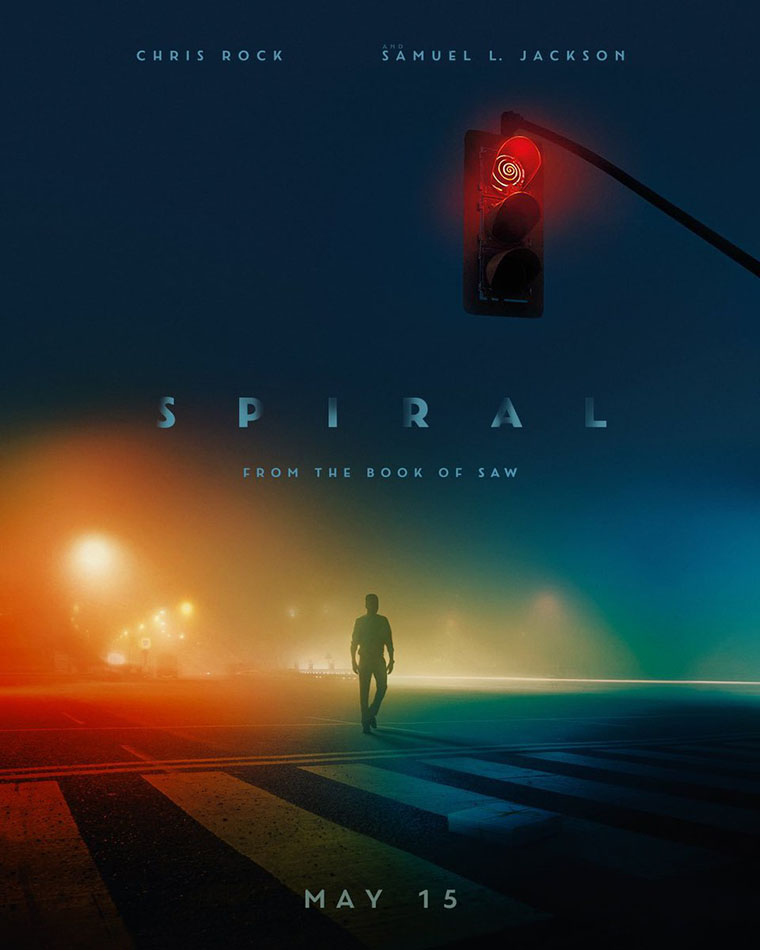 Spiral, Saw, poster