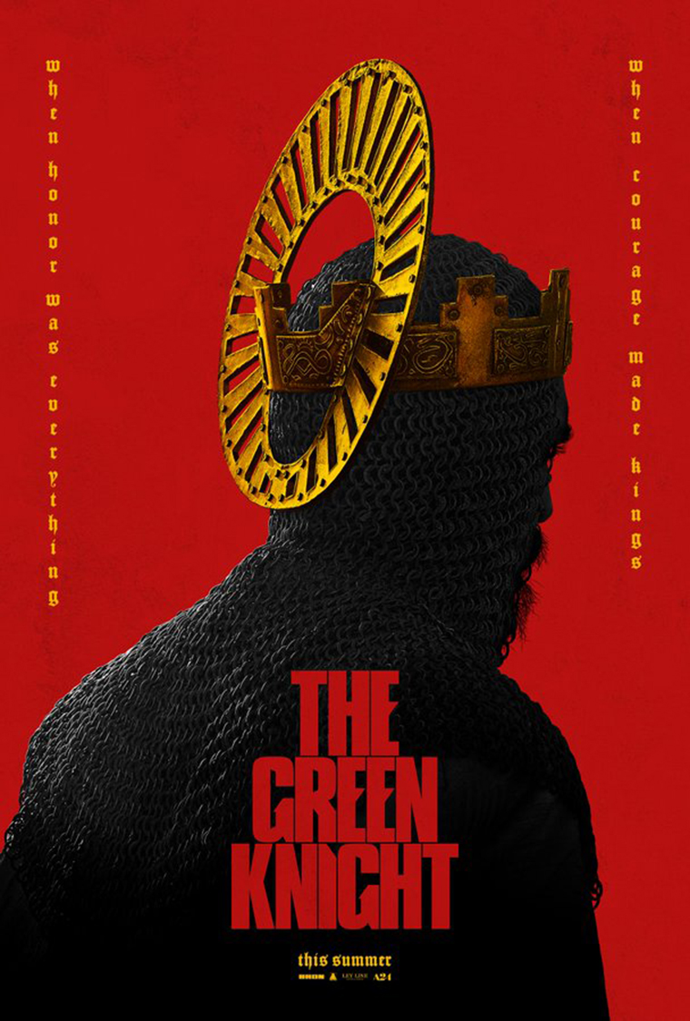 The Green Knight, poster