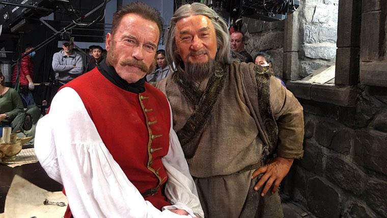 Arnold Schwarzenegger, Jackie Chan, Viy 2, The Iron Mask