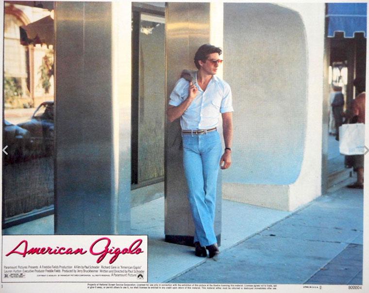 American Gigolo, Jon Bernthal, Richard Gere