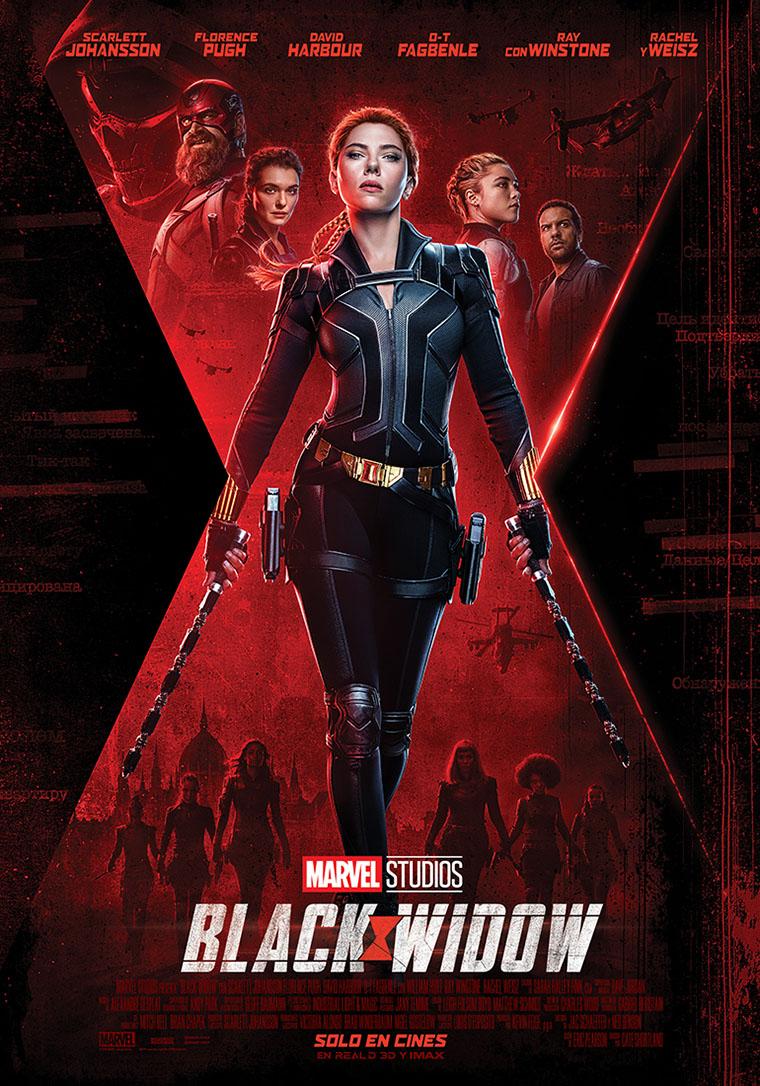 Black Widow, Viuda Negra, poster