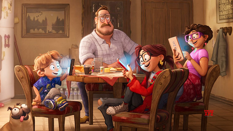 Conectando, Connected, animation, animated, movie