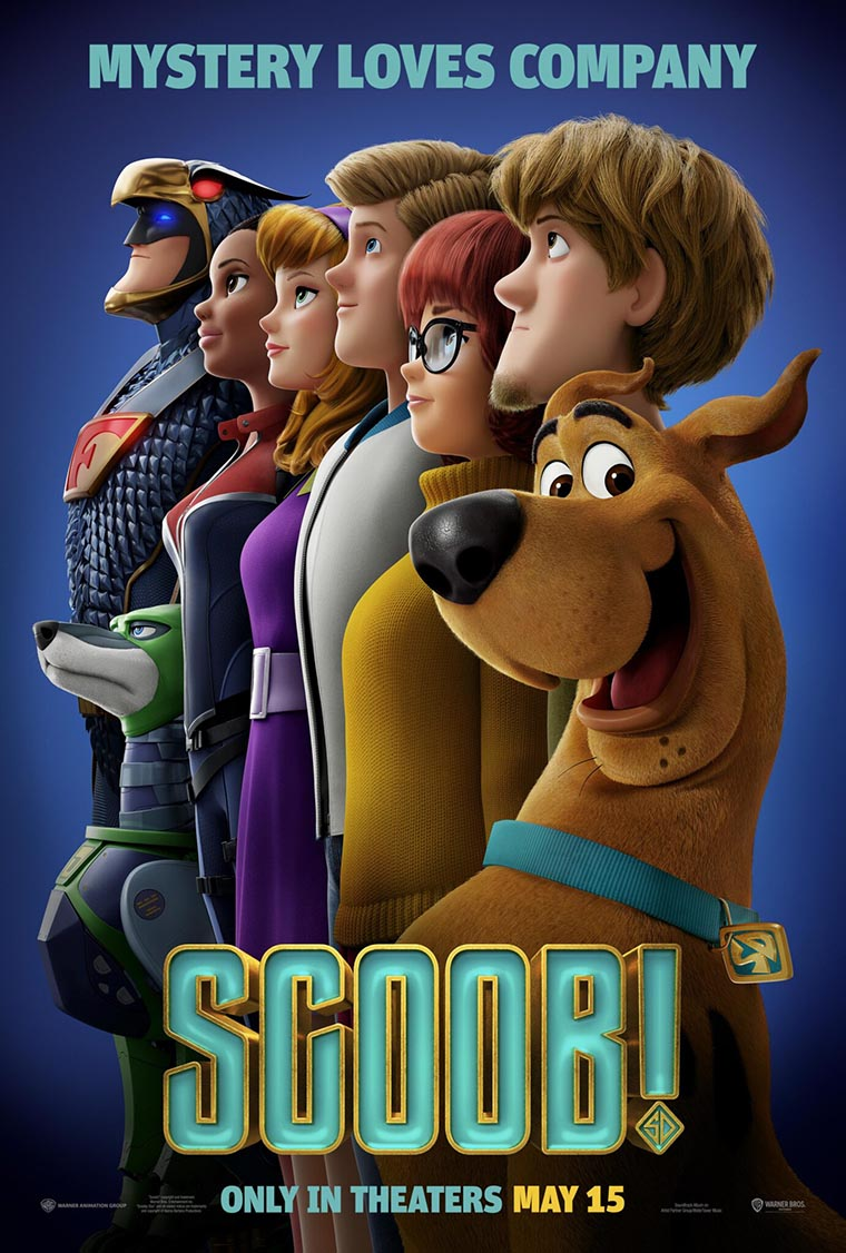 Scoob!, Scooby, poster