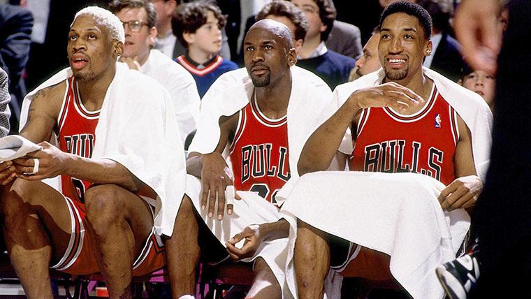 The Last Dance, Michael Jordan, Scottie Pippen, Dennis Rodman