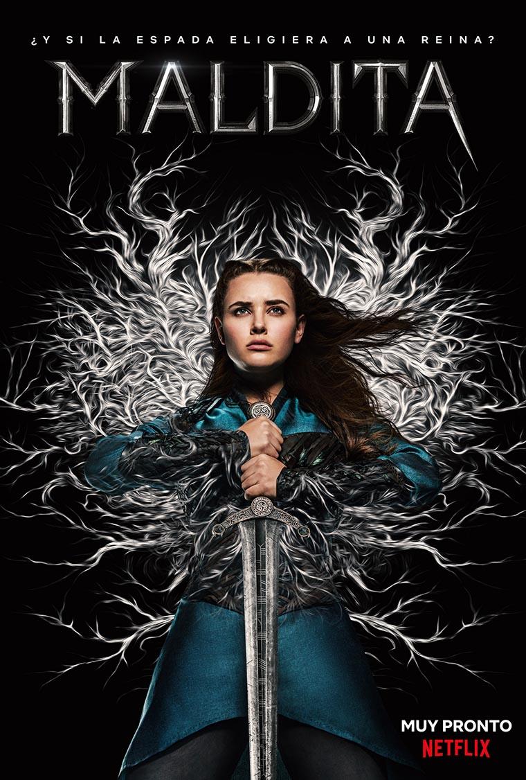 Cursed, Katherine Langford, Maldita, poster