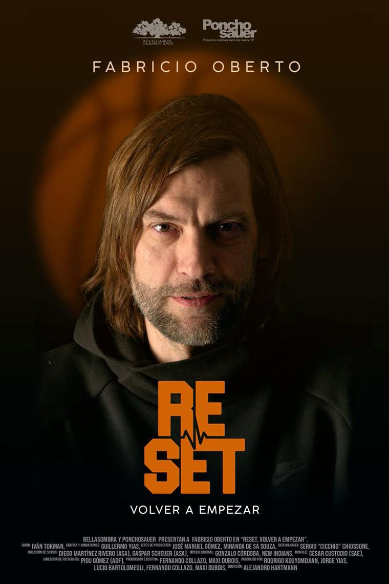Reset, Fabricio Oberto, Argentina, póster