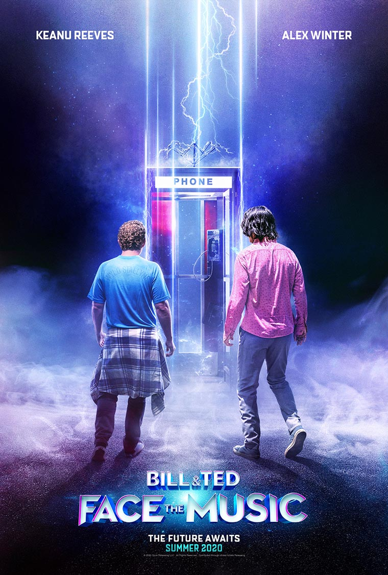 Bill & Ted Face the Music, Keanu Reeves, Alex Winter, poster