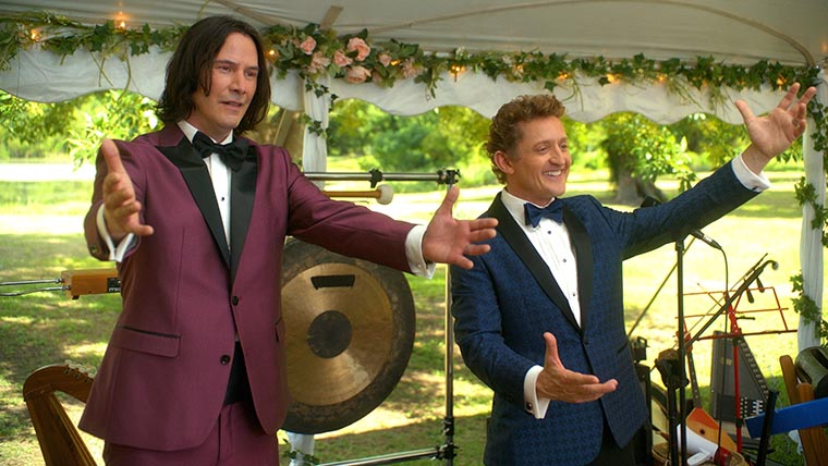 Bill & Ted Face the Music, Keanu Reeves, Alex Winter