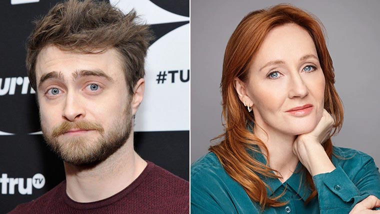 J.K. Rowling, Daniel Radcliffe, 2020