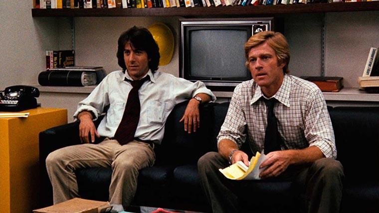 All the President's Men, Robert Redford, Dustin Hoffman
