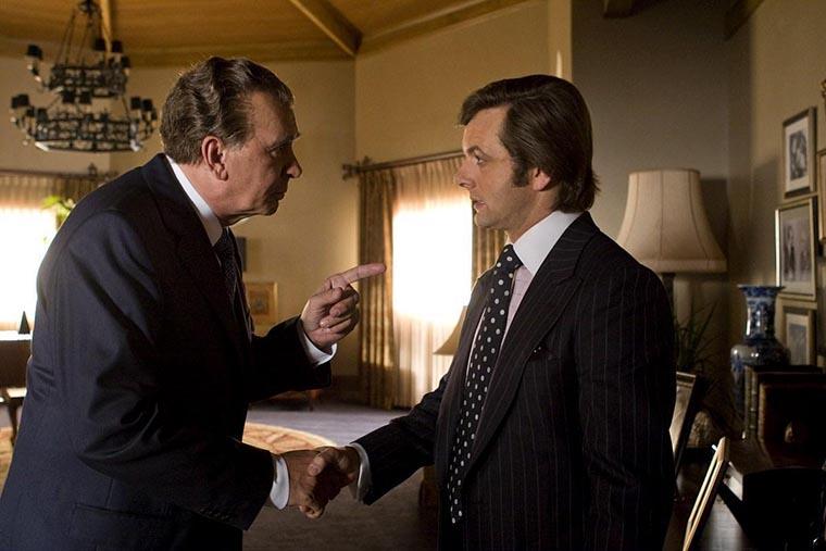 Frost/Nixon, Michael Sheen, Frank Langella