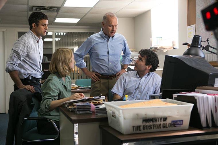 Spotlight, Mark Ruffalo, Rachel McAdams, Michael Keaton