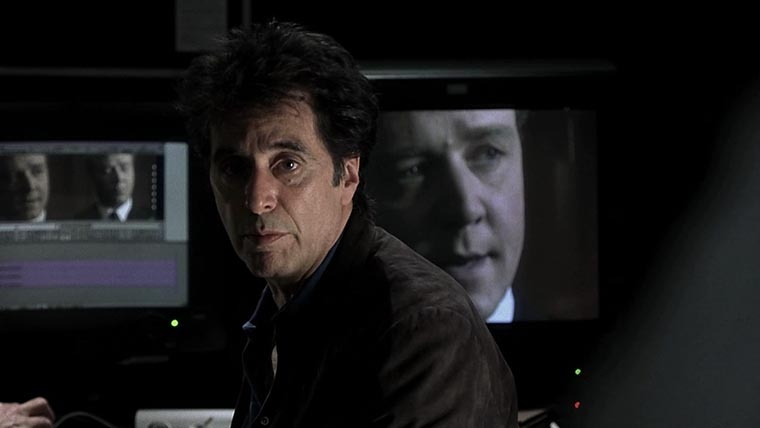 The Insider, Al Pacino, Russell Crowe, Michael Mann