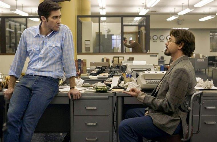 Zodiac, Robert Downey Jr., Jake Gyllenhaal