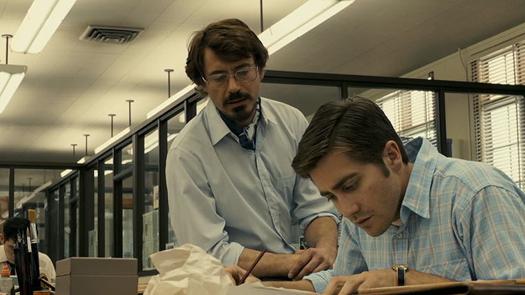 Jake Gyllenhaal, Zodiac, Robert Downey Jr., David Fincher
