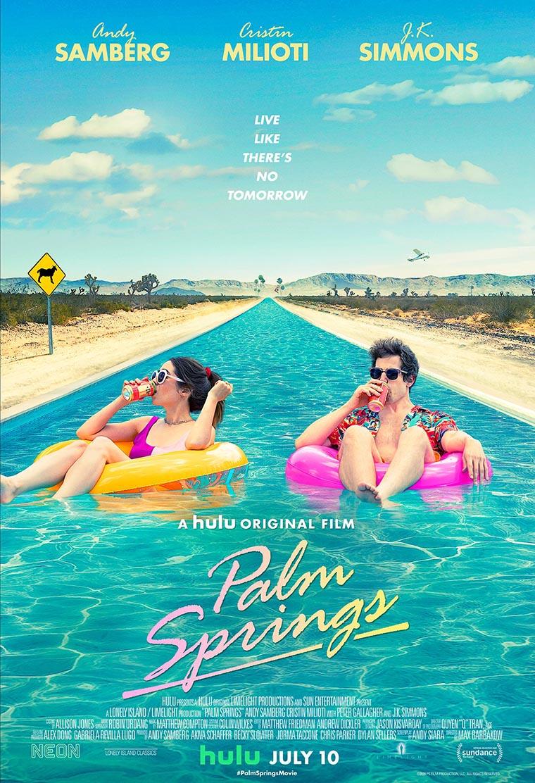 Palm Springs, Andy Samberg, Cristin Milioti, poster