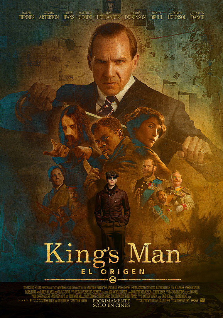 The King's Man, poster