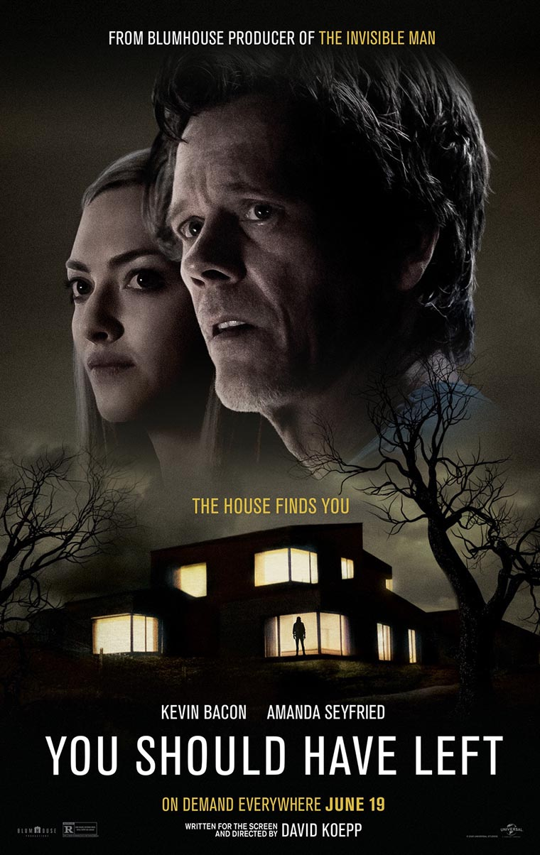 You Should Have Left, Kevin Bacon, David Koepp, poster