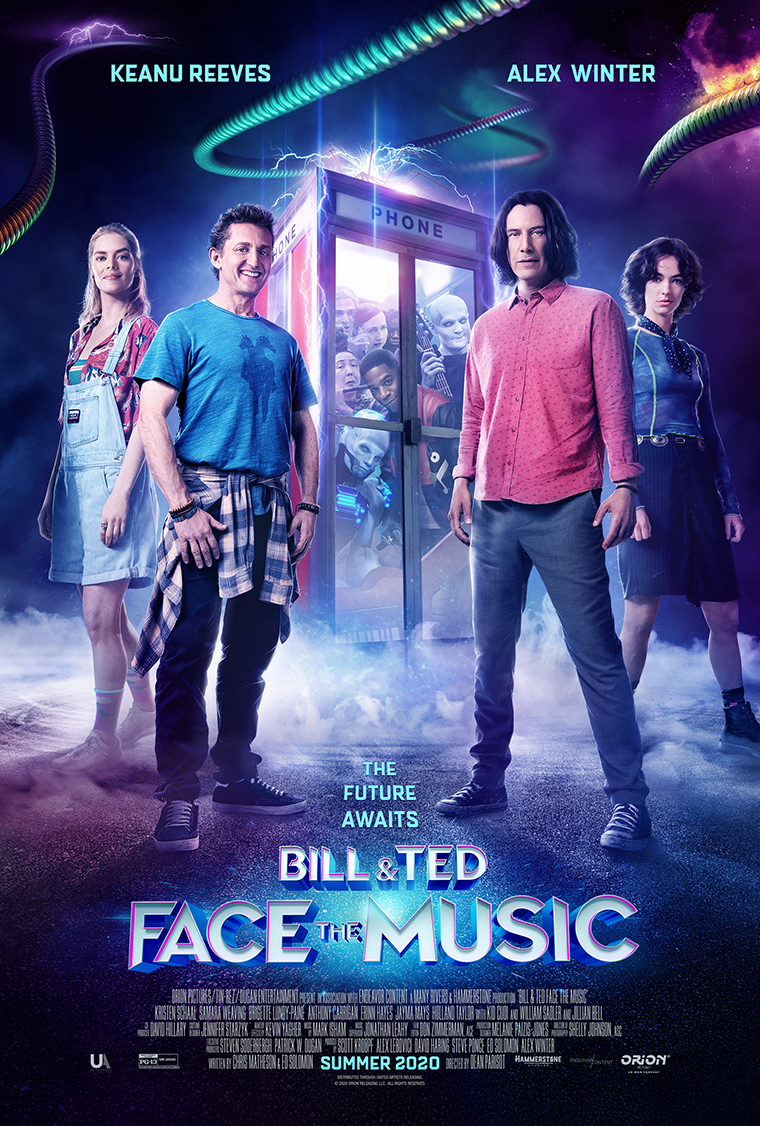 Bill & Ted Face the Music, poster