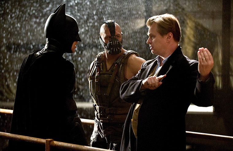 Christopher Nolan, The Dark Knight Rises, behind the scenes, bts