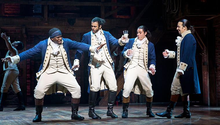 Hamilton, musical, Lin-Manuel Miranda