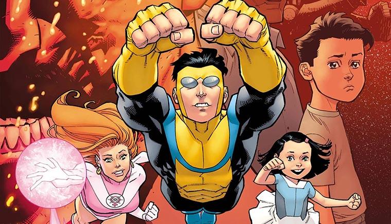 Invincible, Amazon, comic, Robert Kirkman