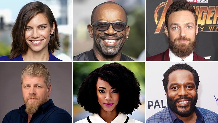 Invincible, The Walking Dead, Lauren Cohan, Michael Cudlitz, Ross Marquand, Chad Coleman, Lennie James, Sonequa Martin-Green