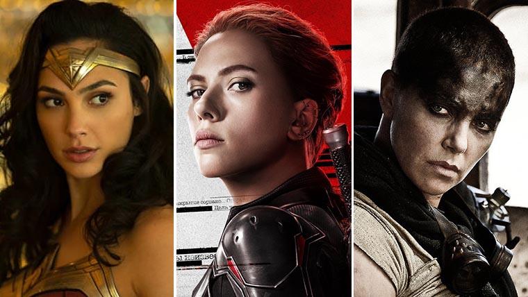 Charlize Theron, Scarlett Johansson, Wonder Woman, Gal Gadot, Black Widow, female