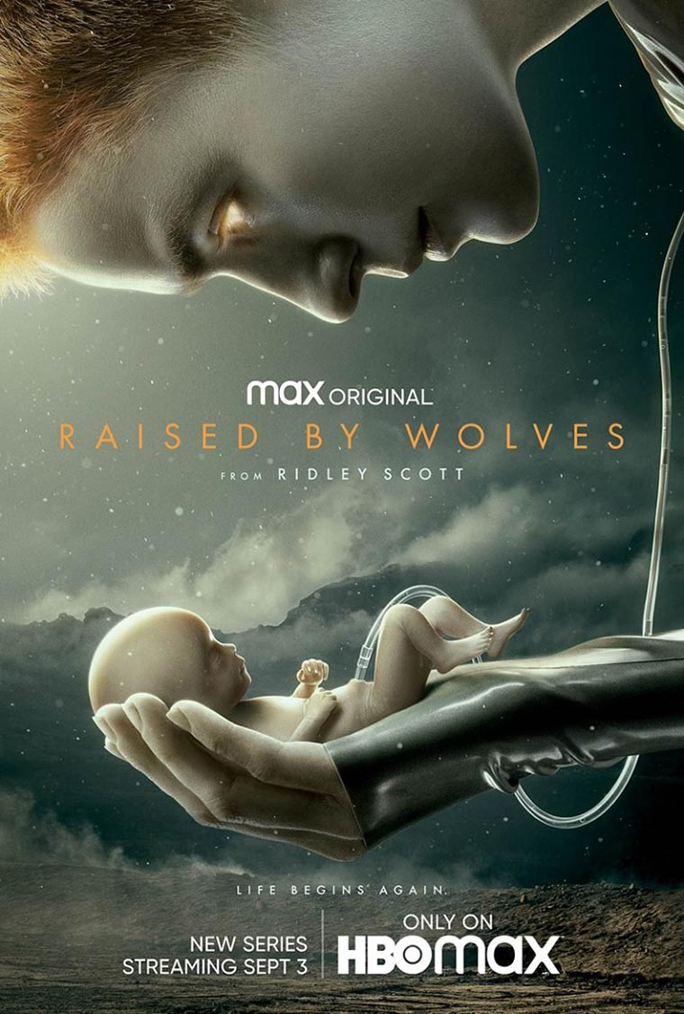 Raised by Wolves, Ridley Scott, poster