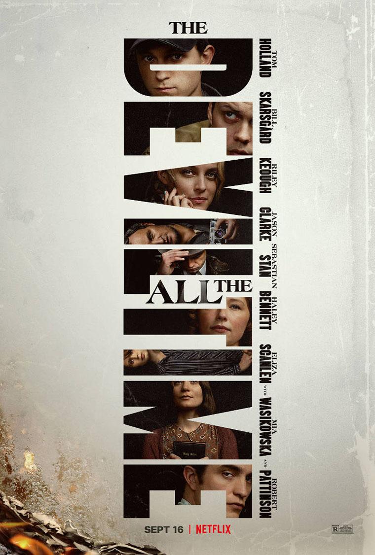 El Diablo a todas horas, The Devil All the Time, Netflix, poster