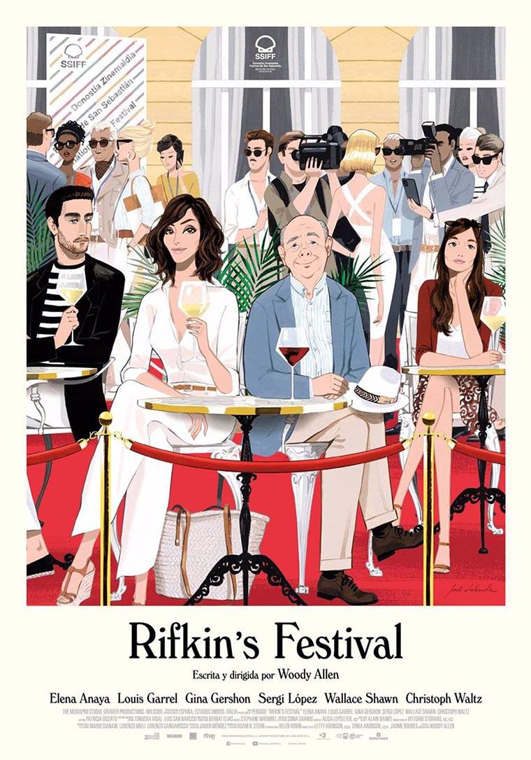Rifkin's Festival, Woody Allen, poster