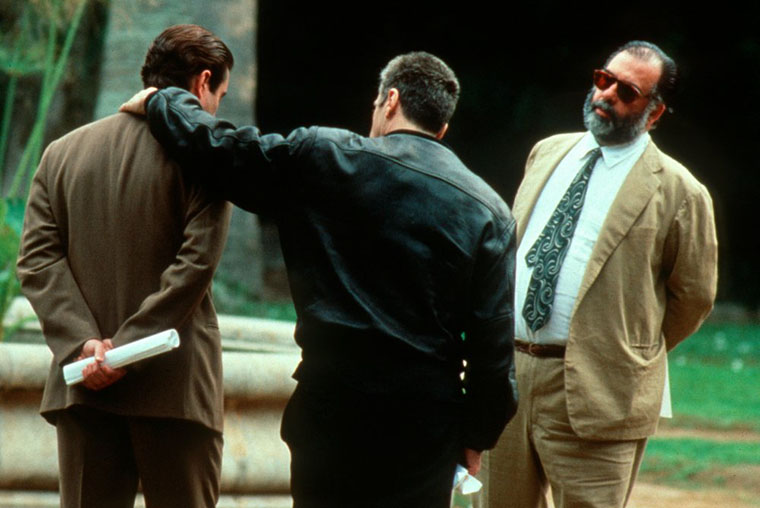 The Godfather III, Al Pacino, Francis Ford Coppola, bts, behind the scenes