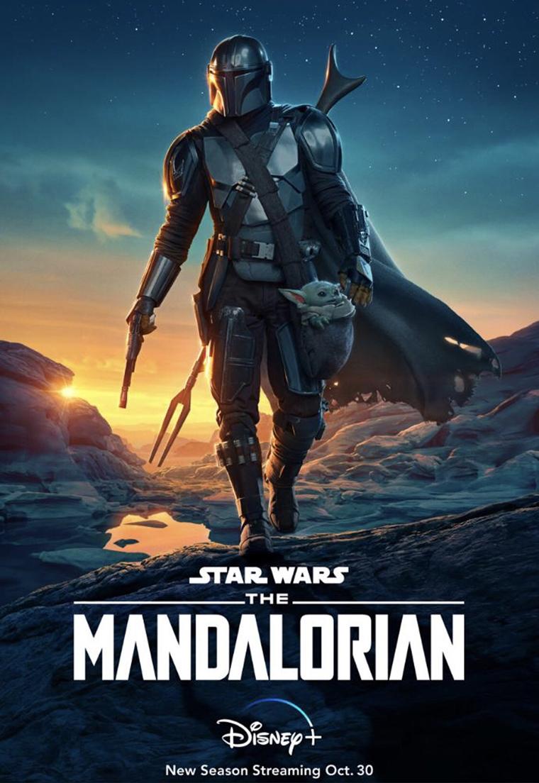 The Mandalorian, season 2, temporada 2, Mando, Baby Yoda, poster