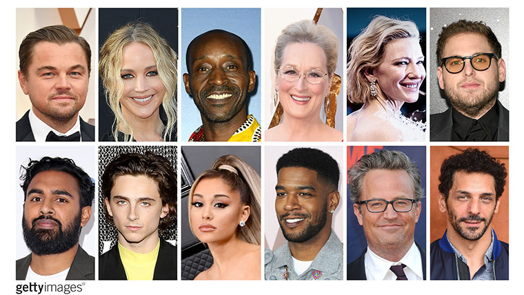 Di Caprio, Streep, Blanchett, Hill, Chalamet, Don't Look Up