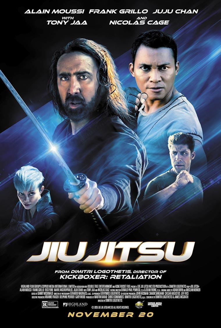 Jiu Jitsu, Nicolas Cage, poster