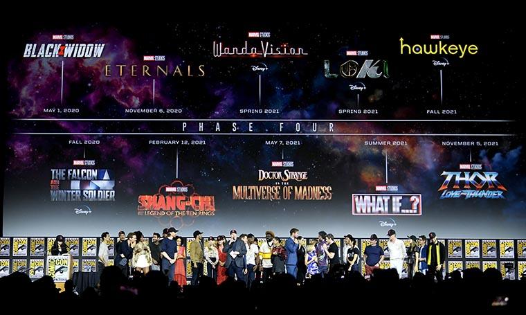 Marvel, Fase 4, Phase 4