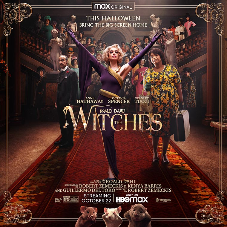 The Witches, Robert Zemeckis, Anne Hathaway, poster