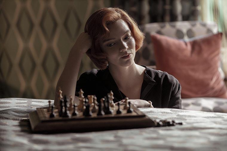 The Queen's Gambit, Anya Taylor-Joy, Gambito de Dama