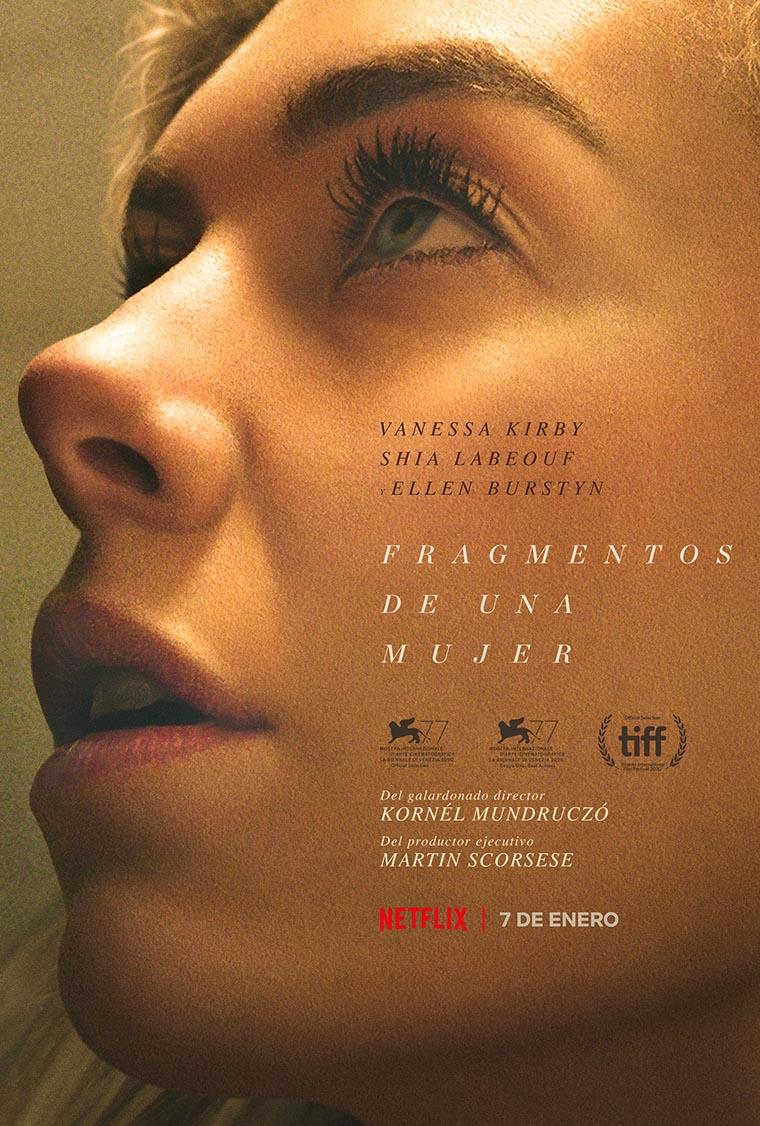 Pieces of a Woman, Vanessa Kirby, Fragmentos de una mujer, poster