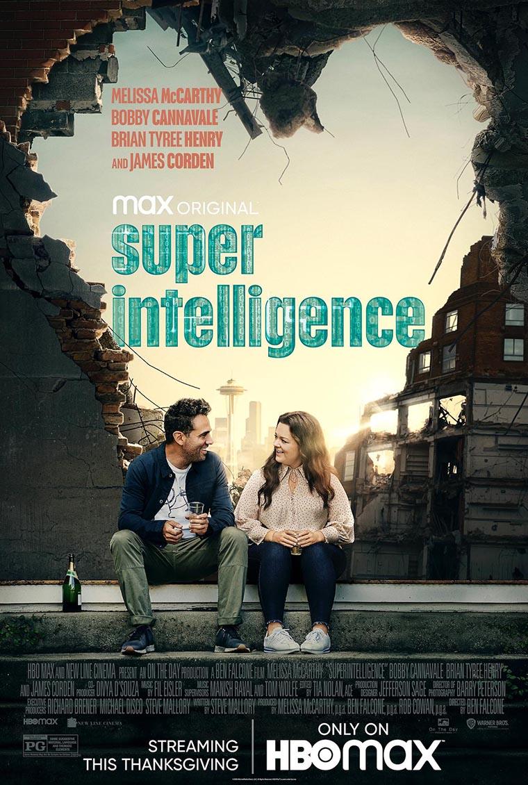 Superintelligence, Melissa McCarthy, poster