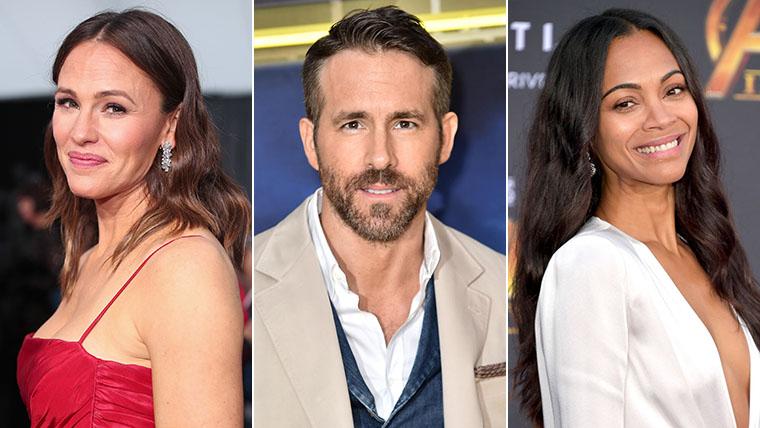 The Adam Project, Ryan Reynolds, Zoe Saldana, Jennifer Garner