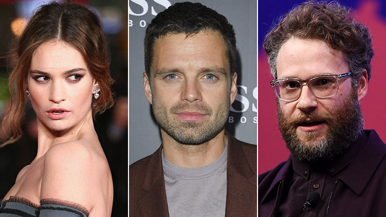Sebastian Stan, Lily James, Seth Rogen, Pamela Anderson, Tommy Lee