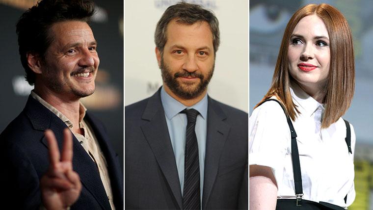 Pedro Pascal, Karen Gillan, Judd Apatow, The Bubble