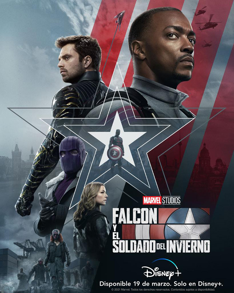 The Falcon and the Winter Soldier, poster