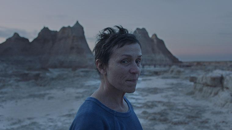 Nomadland, Frances McDormand, Chloé Zhao